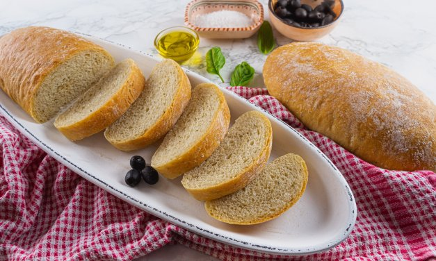Quick And Easy Ciabatta Bread