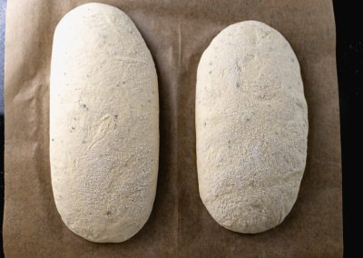Quick And Easy Ciabatta Bread After Proofing
