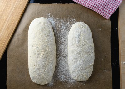 Quick And Easy Ciabatta Bread Before Proofing