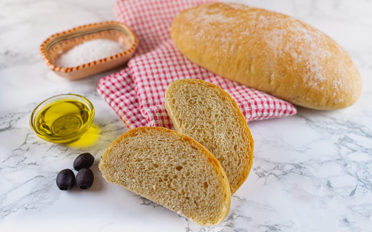 Quick And Easy Ciabatta Bread Crumb