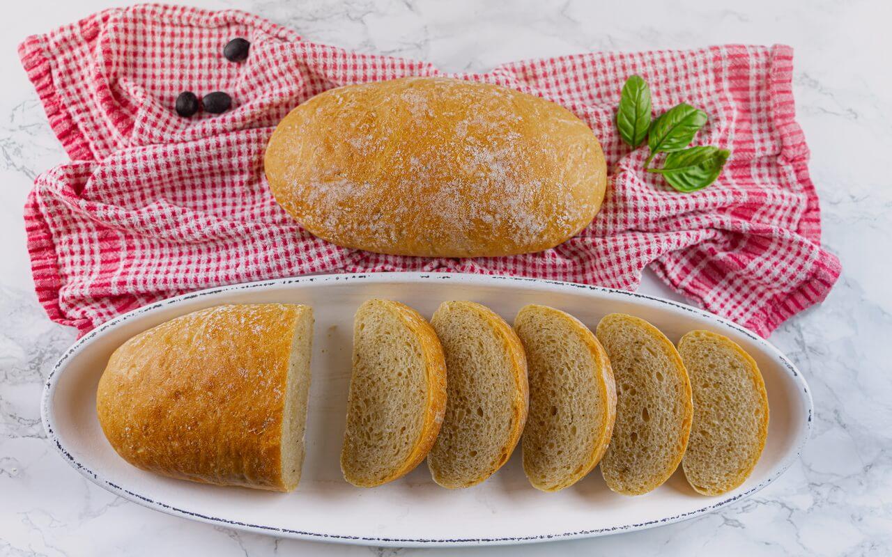 Quick And Easy Ciabatta Bread Slices