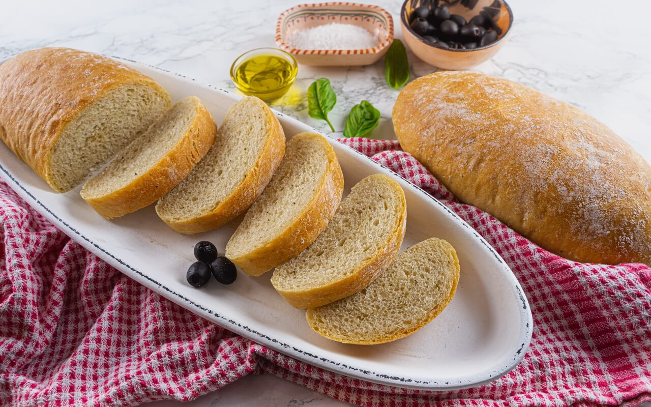 Quick And Easy Ciabatta Bread