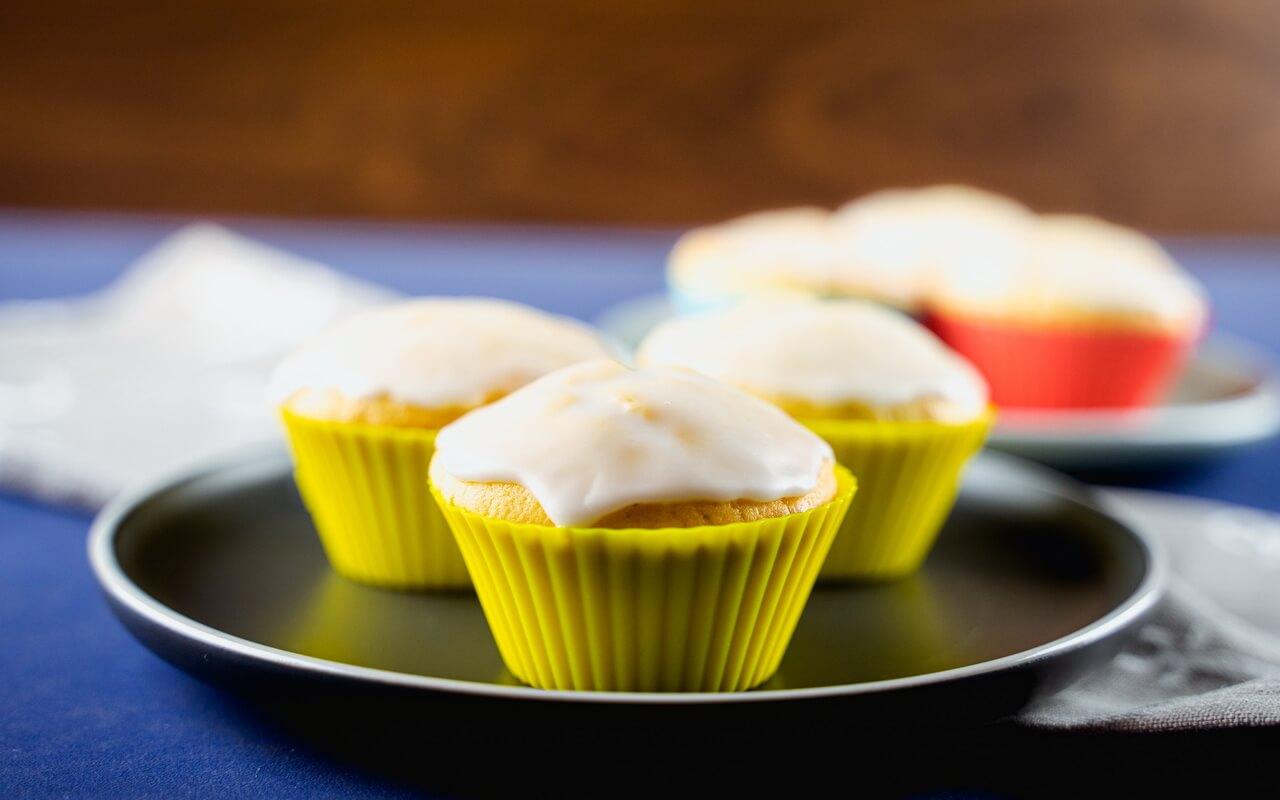 Basic Muffin Recipe With Sugar Glaze