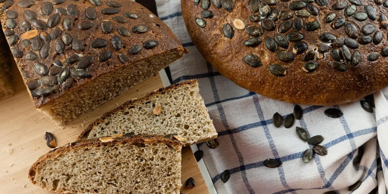 Hearty Pumpkin Seed Sourdough Bread