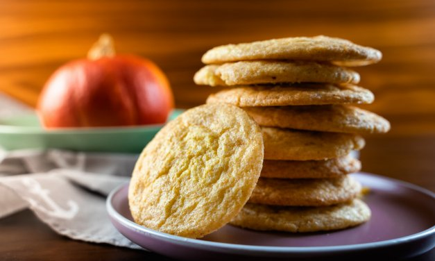 Soft Pumpkin Snickerdoodles