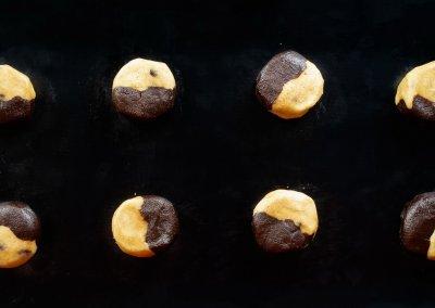 Brookies Brownies And Cookies In One Before Baking