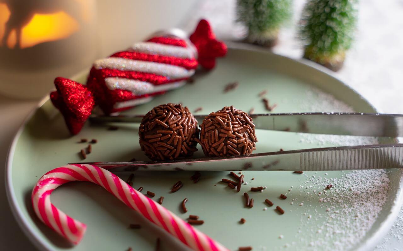 Chocolate Rum Balls Single Balls