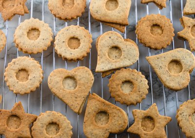 Traditional Linzer Cookies Baked