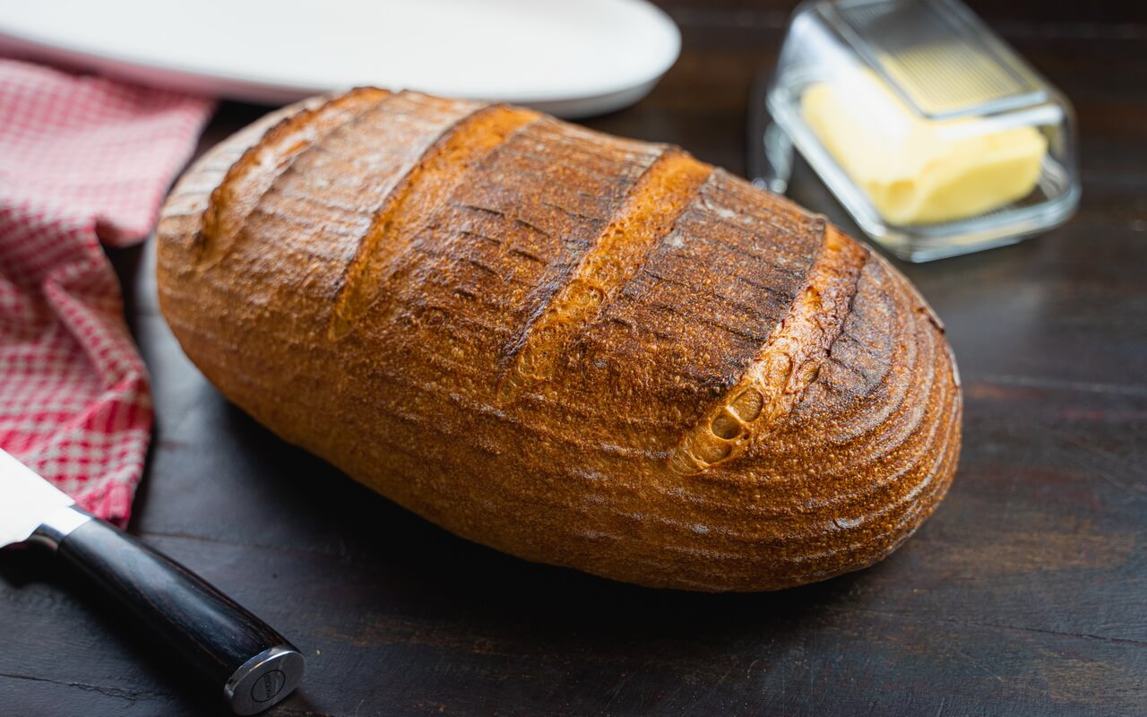 Big Sourdough Bread