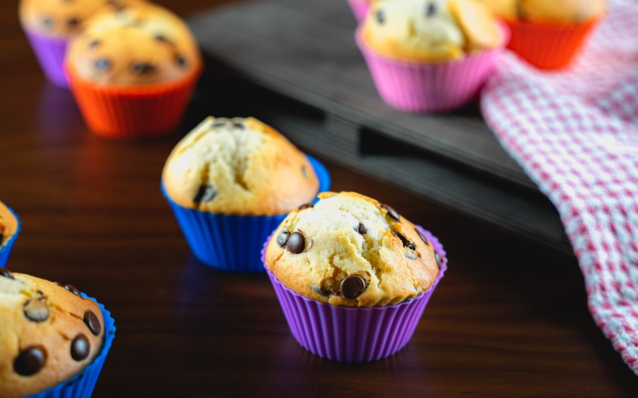 Chocolate Chip Muffins Single